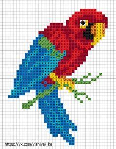 Embroidery patterns cross stitch birds 52 New ideas Mini Cross Stitch, Cross Stitch Alphabet, Cross Stitch Animals, Modern Cross Stitch, Cross Stitch Charts, Cross Stitch Designs, Cross Stitch Patterns, Cross Stitching, Cross Stitch Embroidery