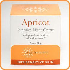 Earth Science Apricot Night Creme - 2 oz.