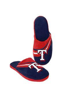 Texas Rangers Big Logo Slide Slippers http://www.rallyhouse.com/shop/texas-rangers-1606011?utm_source=pinterest&utm_medium=social&utm_campaign=Pinterest-TexasRangers $19.99