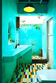 Boho Kitchen Turquoise Bathroomturquoise