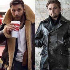 @leonardodicaprio vs @thomashardy_ which @cockpitusa coat do you prefer? 1 or 2