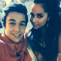 Austin Mahone And Becky G They are so cute together ☺️❤️