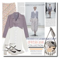 """#SEEBUYWEAR By REBECCA MINKOFF"" by chixdejesus ❤ liked on Polyvore featuring Mode, Rebecca Minkoff, women's clothing, women, female, woman, misses, juniors, contestentry und seebuywear"