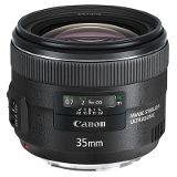 Canon EF 35mm f2 IS USM Lens product photo