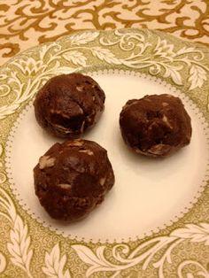 Feeding Ger Sasser: Cocoa Delight Bites