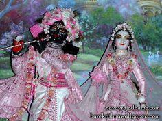 Sri Sri Radha Shyamsundar Close up Wallpaper