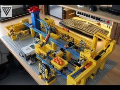 LEGO GBC 5 made by Philip Verbeek (+1 motor for airpump)