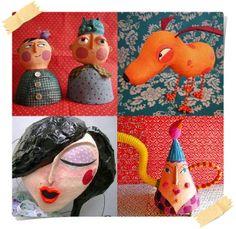 Receita de papel maché - dcoracao.com - blog de decoração