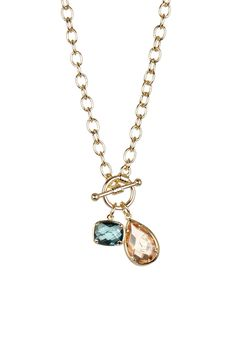 Toggle Stone Charm Necklace by Nordstrom Rack on @nordstrom_rack