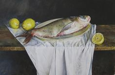 """Atanas Matsoureff """"My name is Atanas Matsoureff. Watercolour is a painting technique whic. Painting Videos, Painting Techniques, Painting & Drawing, Watercolor Fish, Watercolor Landscape Paintings, Fish Paintings, Portrait Paintings, Woman Illustration, Still Life"""