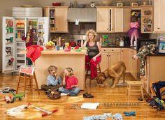 Au FLE !: Femme au foyer
