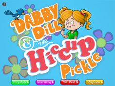 Dabby Dill & The Hiccup Pickle App. Awesome interactive children's #story #app, perfect for all level of readers.
