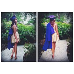 Graduation pictures. Cap and gown photos.