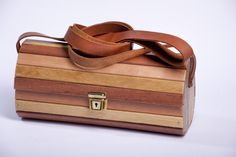 Handcrafted Designer Wooden Baga with adjustable strap , very light in weight , strong , best quality , water resistant and durable . Wooden Bag, Cape Town, Strong, Water, Bags, Design, Gripe Water, Handbags