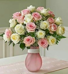New Birthday Flowers Bouquet Beautiful Roses 21 Ideas 800 Flowers, Fresh Flowers, Silk Flowers, Rose Arrangements, Beautiful Flower Arrangements, Deco Floral, Arte Floral, Rosa Rose, White Wedding Flowers