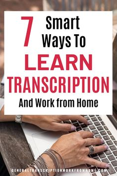 Find out how to learn transcription, how get started in general transcription, and how to get transcription jobs from home. Learn how to become a professional transcriptionist and get general, non-medical transcription jobs from home. You don't need a degree but you need to learn the skills you need to be able to do transcription work. Transcription Jobs From Home, Transcription Jobs For Beginners, Online Side Jobs, Best Online Jobs, Typing Jobs From Home, Save For House, Saving For College, Legitimate Work From Home, Work From Home Opportunities