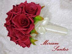 Buquê de Rosas Vermelhas de Eva sem Frisador