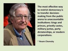 Noam Chomsky.