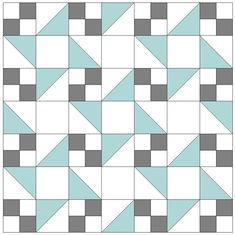 Sweet dreams quilt pattern and directions. Four patch, half square and square blocks.
