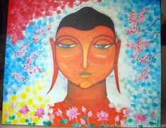 A Creative Project: New painting: The great Buddha