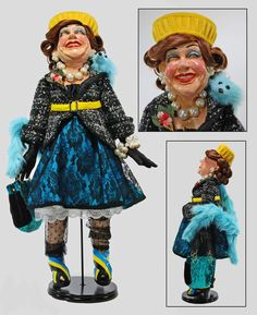 """Katherine's Collection Fifi On Fifth 29"""" Eula Doll Free Ship"""