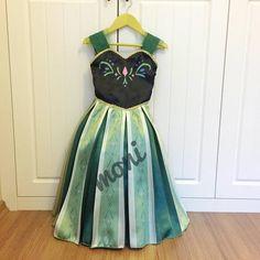 Frozen Anna Costume by monikids on Etsy