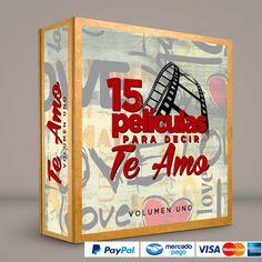 15 Películas para decir TE AMO! #ColeccionCompleta DVD · BluRay · Calidad garantizada. #BoxSetDeLujo Presentación exclusiva de RetroReto. Pedidos: 0414.402.7582   #Ghost #Titanic #UnPaseoPorLasNubes #PosdataTeQuiero #PrettyWoman #ElDiarioDeBridgetJones  #ElGuardaespaldas #NottingHill #LeyendasDePasión #LoQueElVientoSeLlevó #LosPuentesDeMadison #MejorImposible #ForrestGump #RomeoJulieta #TopGun