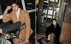 Song Jae Rim – Dangerously Flirtatious In Geek Magazine | Couch Kimchi