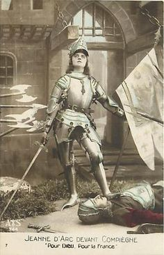 JOAN OF ARC- FOR GOD & FOR FRANCE Fantasy Armor, Medieval Fantasy, Dark Fantasy, Female Armor, Female Knight, St Joan, Joan Of Arc, Knight In Shining Armor, French Army