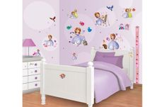 Stickers 'Princess Sofia' - WALLTASTIC