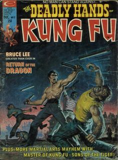 Deadly Hands of Kung Fu # 7 by Earl Norem