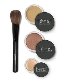 Another great find on #zulily! Tan Mineral Foundation Starter Kit by Blend Mineral Cosmetics #zulilyfinds