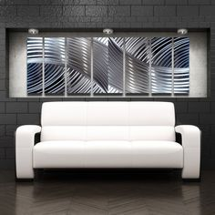 Modern Contemporary Abstract Metal Wall Sculpture Art Work Painting Home Decor #Abstract