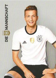 Marco Reus. Die Mannschaft EuroCup 2016 German Football Players, Germany Football Team, Soccer Players, Football Pitch, Football Is Life, Football Soccer, Germany Squad, Germany Team, German National Team