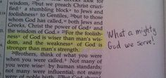There is no other god like our God!