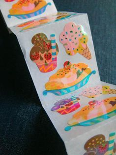 Ice Cream Shoppe Sandylion Stickers