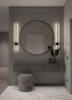 Home Room Design, Interior Design Living Room, Living Room Designs, Living Room Decor, House Design, Living Spaces, Modern Luxury Bedroom, Luxurious Bedrooms, Flur Design