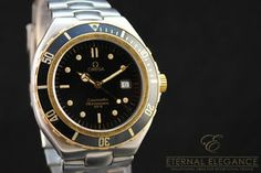 Omega Seamaster Professional 200m, Full Size 39mm, Date, Two Tone Steel/18K Gold