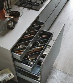 dettaglio cucina moderna stosa - modello cucina aliant 04