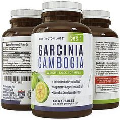 95% HCA Garcinia Cambogia Extract - Weight Loss Supplement for Healthy Slimming