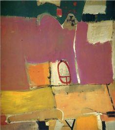 Richard Diebenkorn Artist | Albuquerque No. 4 - Richard Diebenkorn - WikiPaintings.org