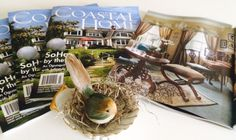 Well Dunn Home Designs, one of ten designers featured in Summer Issue Coastal Home Magazine