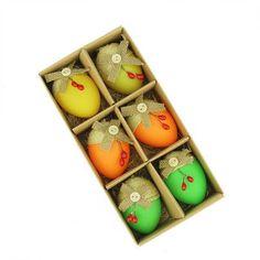 Northlight Jute Burlap Spring Easter Egg Ornament
