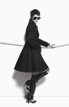 MAX MARA - Brand Campaign - Autunno/Inverno 2012 - Fotografo: Mario Sorrenti - Modella: Saskia De Braw