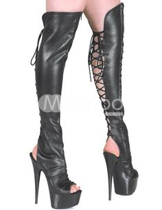 5ac5ceca747f5 32 meilleures images du tableau Bottes ouvertes   Boots, Heel boots ...