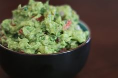"just saw this recipe, buuut i already make my gaucamole this way!! ""The Best Guacamole Ever"""