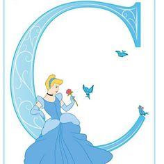 "Disney Alphabet Printables | Printables | Spoonful ""C"""