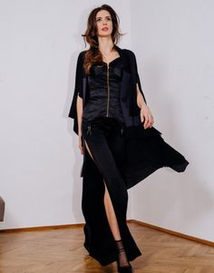 Available for delivery within two weeks Part of Signature Collection Signature Collection, Corset, Duster Coat, Idol, Kimono, Jackets, Fashion, Moda, Bustiers