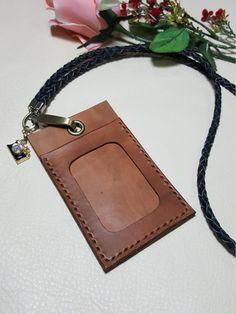 Leather ID Card Holder ID Card Holder Leather by StarlightHandmade