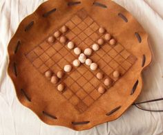 Tablut and Nine Men's Morris . Historical tafl game. Hnefatafl